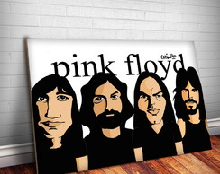 Placa Decorativa Pink Floyd 4- 30x20cm