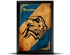 Quadro Poster Filme Harry Potter - Corvinal GF077