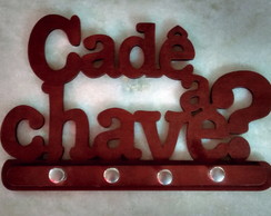 Porta Chaves MDF decorado