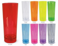 Copo Long drink Pisca Pisca Led sem Pers