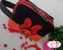 Necessaire (estojo) Box Minnie