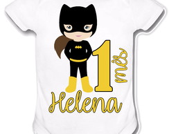 Body personalizado - Bat Girl