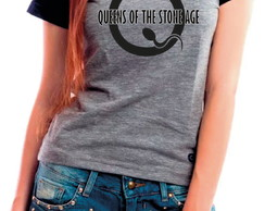 Camiseta Baby Look Queens of the Stone Age