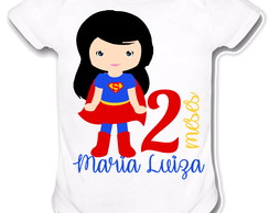 Body personalizado - Super Girl