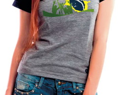 3a9ba6355f ... Camiseta Baby Look Copa Copa do Mundo 2018