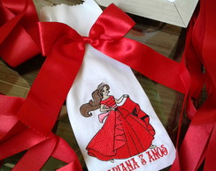 Saquinho Bordado para Chocolate Elena de Avalor