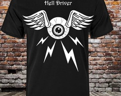 Camiseta Hell Driver Eyeball