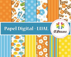Kit 12 Papel Digital- Lual