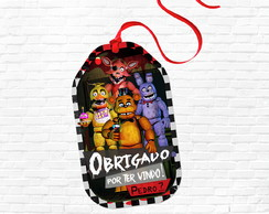 Tag Lembrancinha Five Nights at Freddy's