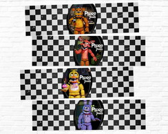 Rótulo Five Nights at Freddy's Água