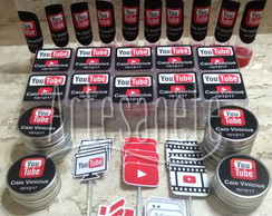 Kit Festa Tema You Tube