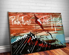 Placa Decorativa Pink Floyd 5-30x20cm