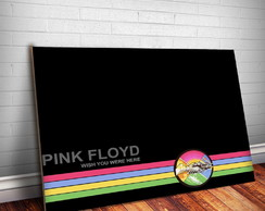 Placa Decorativa Pink Floyd 9-30x20cm