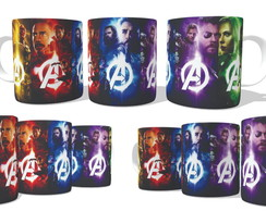 Caneca Guerra Infinita Colors - Infinite War
