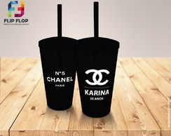 COPO TWISTER TEMA CHANEL