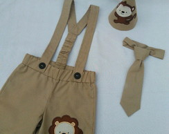 conjunto bichinhos do safari menino para smash