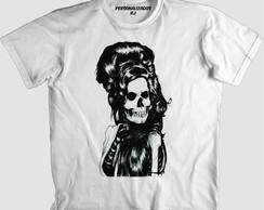... Camisa CAVEIRA AMY WINEHOUSE d3f84fed1be78
