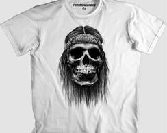Camisa Caveira Hippie  27ee499f49fd5