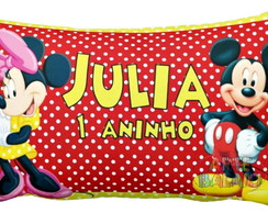 Mini Almofadinhas 10x15 Festa Mickey & Minnie Oferta