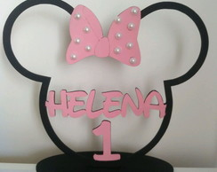 Centro de Mesa Minnie kit com 10