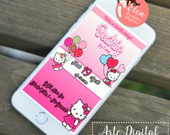 HELLO KITTY CONVITE DIGITAL (WHASTAPP)