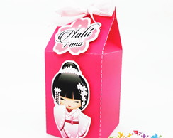 Mini Caixa Milk kokeshi