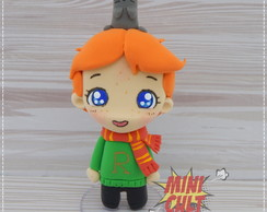 Toy Chibi Rony e Perebas (Harry Potter)