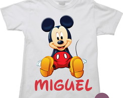 Camiseta Infantil Mickey Mouse 02