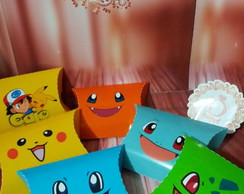 Mini box travesseiro Pokemon