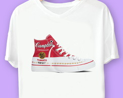 Camiseta Campbells Soup Warhol All Star
