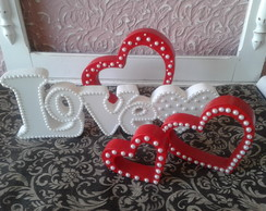 Kit Love decorativo