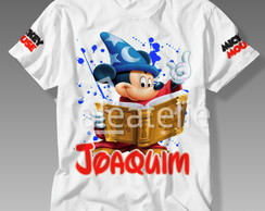 Blusa Mickey Mouse Infantil Personalizada