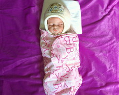 Swaddle Out/Inverno Baby Rosa