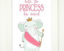 Quadro infantil - The little princess