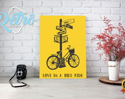 Placas Decorativas Bicicleta Bike