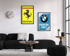 Placas Decorativas Carros Poster propaganda