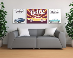 Placas Decorativas Carros Poster propaganda 02
