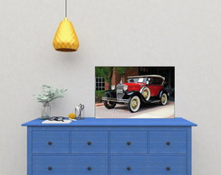 Placas Decorativas Carros Retro Vintage 04
