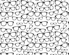 Papel de Parede Oculos Preto e Branco 1068   Elo7 dc727f5f44