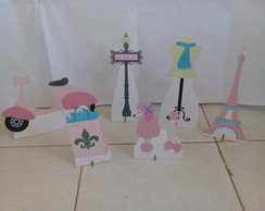 Kit Paris display em mdf