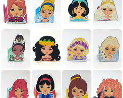 Kit forminhas 12 princesas