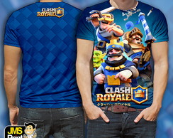 Camisa Estampada Clash Royale Full Estampa
