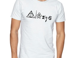 Camiseta Camisa Masculina Harry Potter Aways