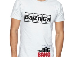 Camiseta masculina bazinga the big bang theory