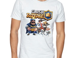 Camiseta masculina Clash Royale Supercell