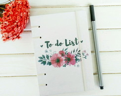 Caderno To do List - A6