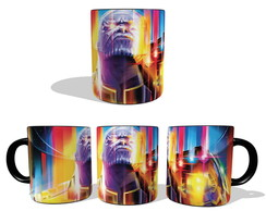 Caneca Guerra Infinita Thanos Colors