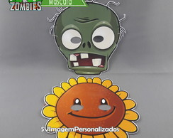 Plants vs Zombies Máscara Infantil