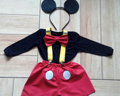 Fantasia Mickey - adulto e infantil