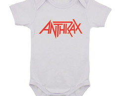 Body Infantil Anthrax Banda de Rock